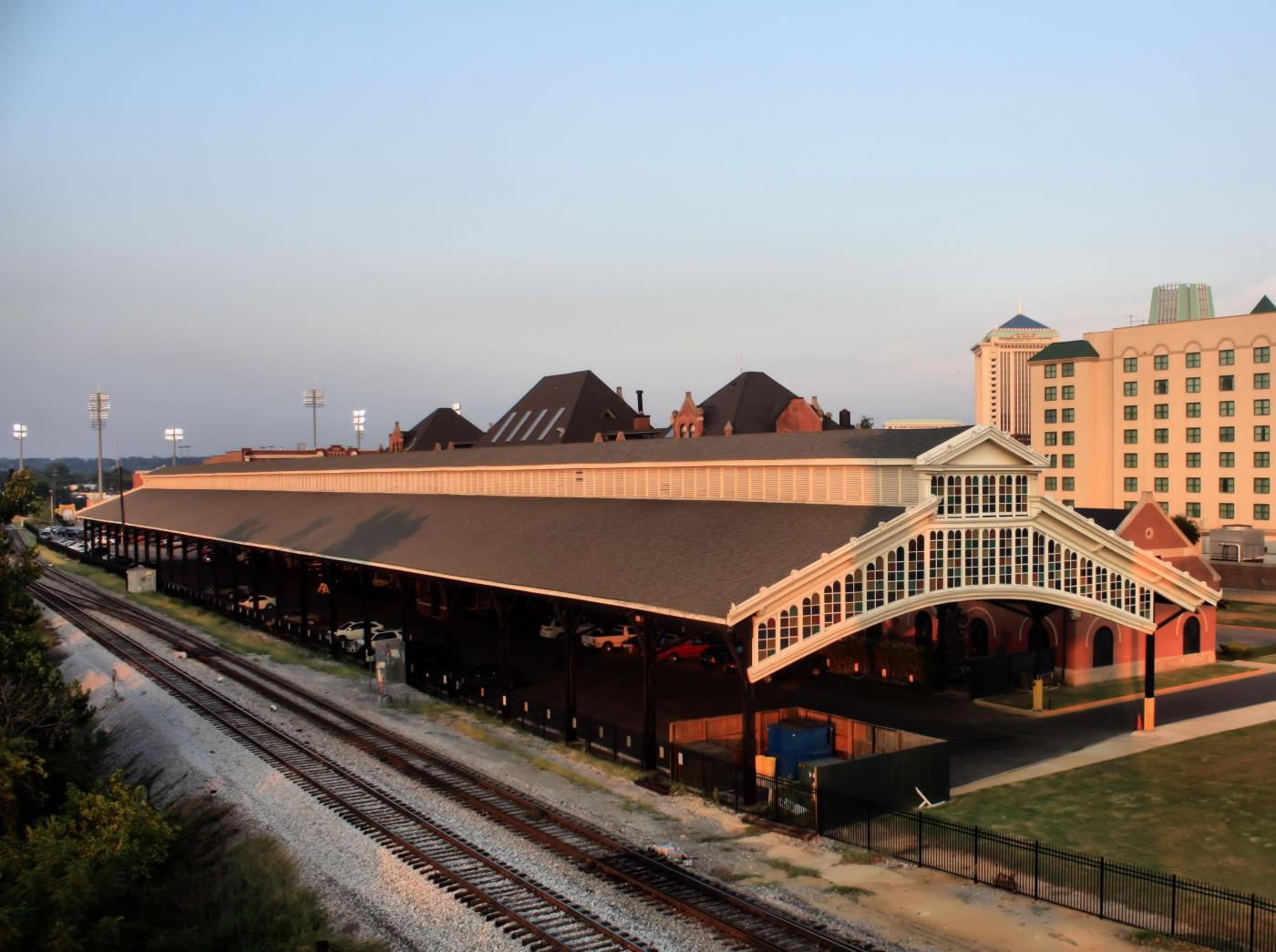 train shed