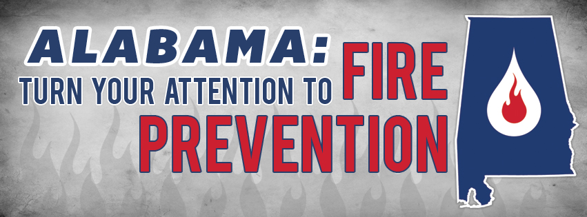 Alabama, turn your attention to fire prevention