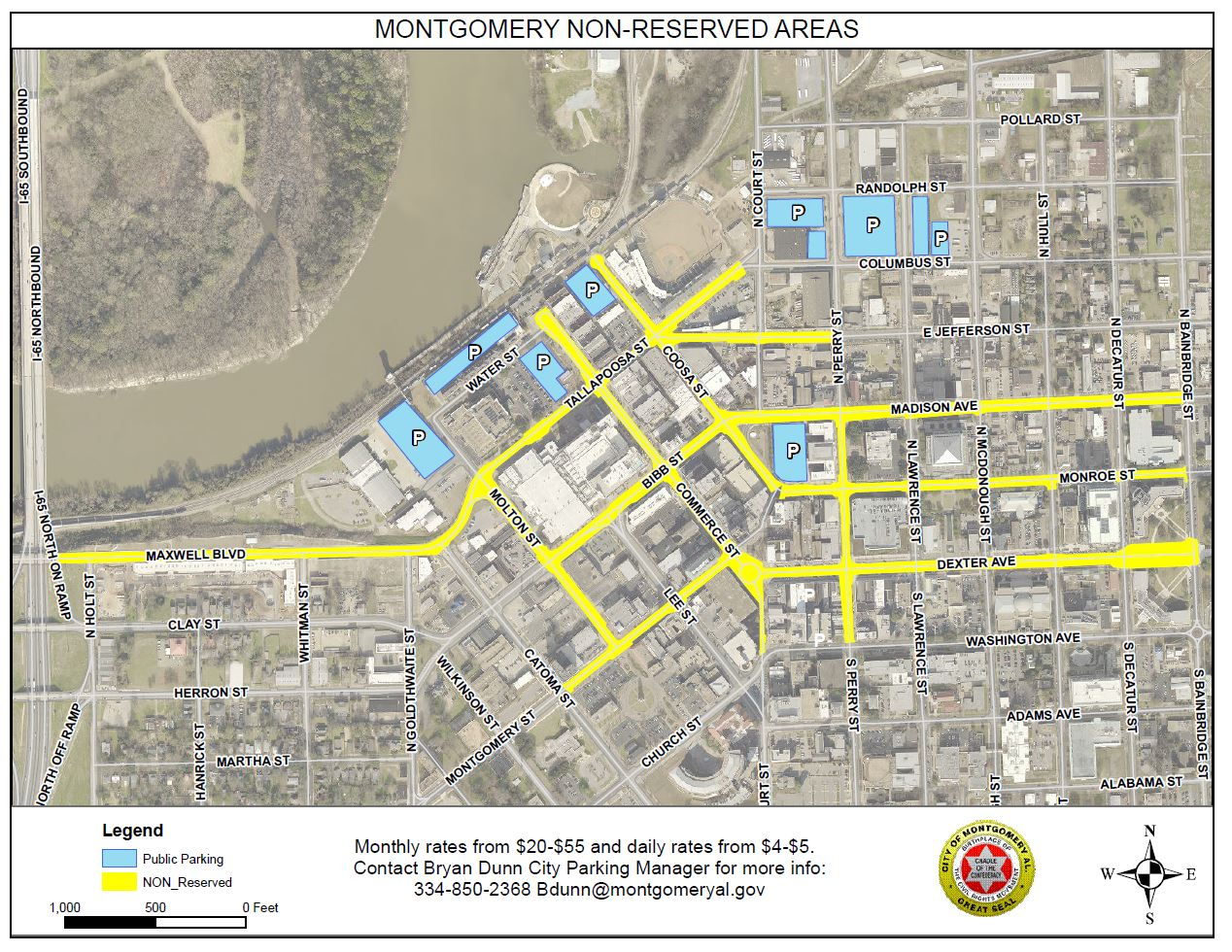 Public Parking Downtown | City of Montgomery
