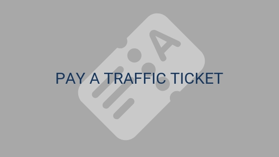 pay a traffic ticket.