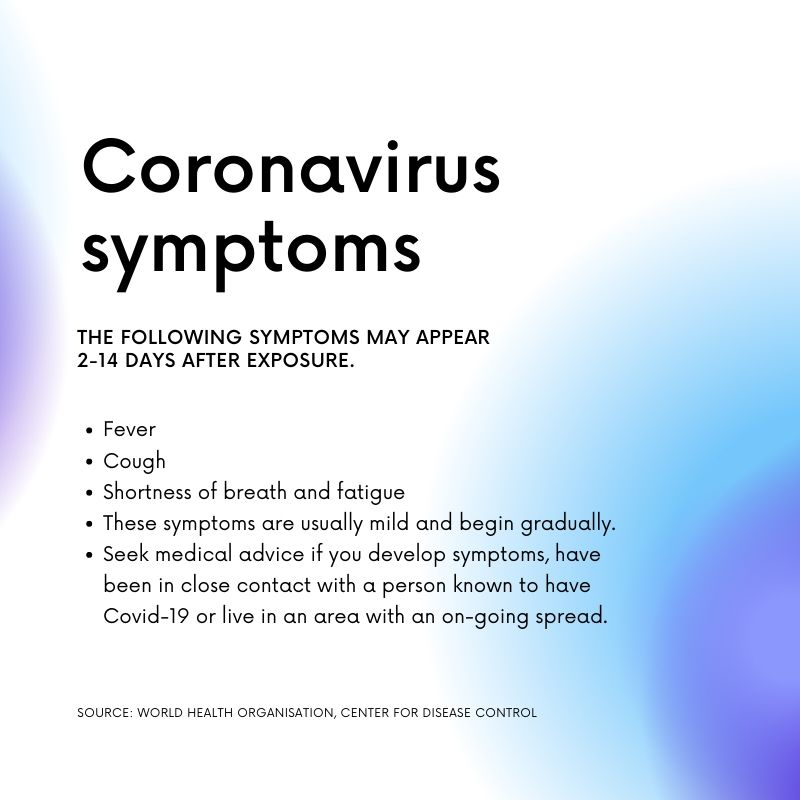 During a crisis talk to people you trust Coronavirus Instagram Post