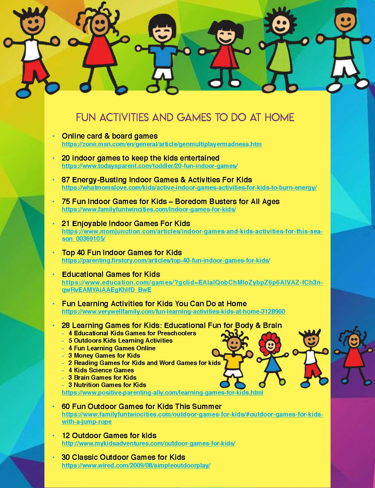 Activities and Games