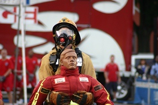 Firefighter Competing